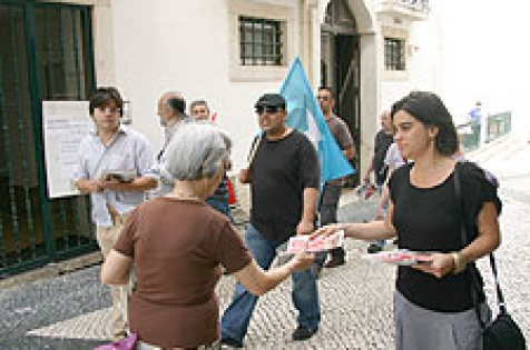 Torres Vedras: Bloco de Esquerda faz campanha junto dos torrienses